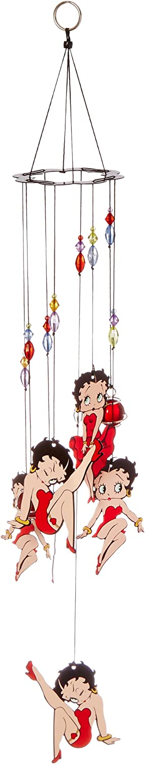 Spoontiques/Betty Boop Hpt Metal Chime