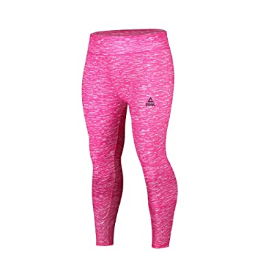 Peak Women's Yoga Pants Comfy and Quick Dry Workout Sports Fitness Running Leggings