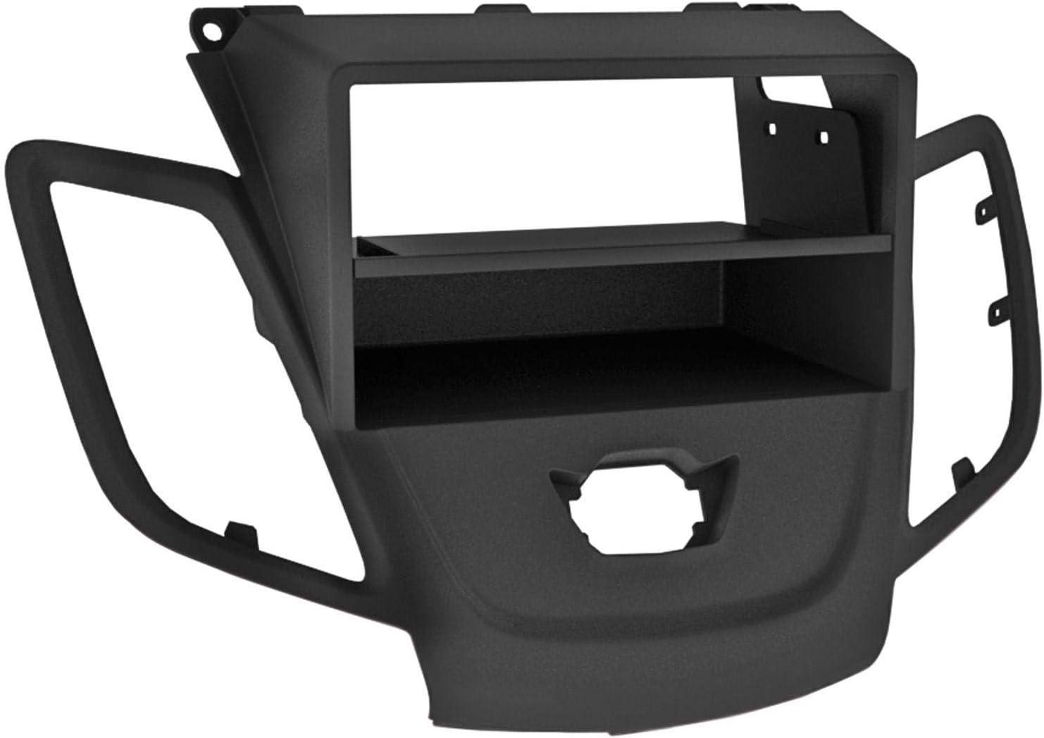 Watermark WM-6359.1 Fa/çade dautoradio Double DIN pour Ford Fiesta MK7 JA8 2008-2013 Noir