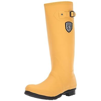 Kamik Women's Jennifer Rain Boot, Mustard, 6 M US | Mid-Calf