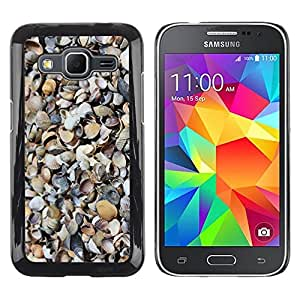 LECELL--Funda protectora / Cubierta / Piel For Samsung Galaxy Core Prime SM-G360 -- Shore Sand Beach Nature Pattern --
