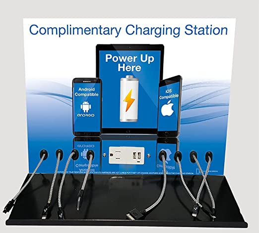 x8 power station cell phone charging stationus