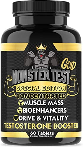 GNC Men s Healthy Testosterone, 60 Caplets, Testosterone and Sexual Health Support