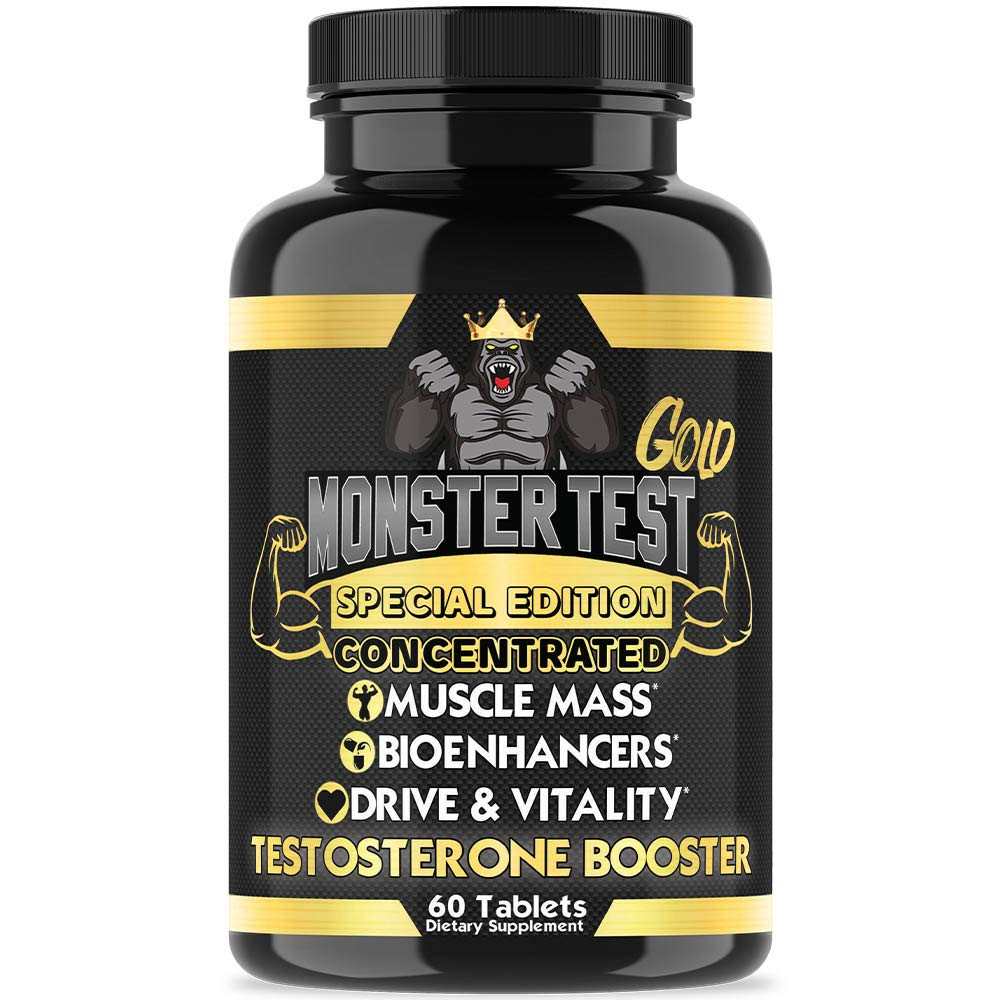 Angry Supplements Monster Test Gold