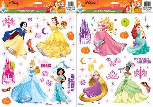 Disney Princess Window Cling Set (Halloween Disney Princess)
