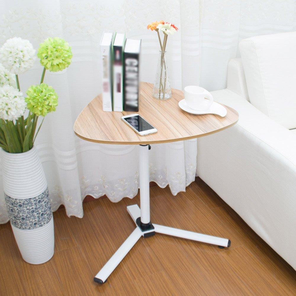 HAKN 折りたたみテーブルラップトップデスクを移動するために上下に移動ベッドサイドの怠惰なサイドテーブル5色利用可能620 * 590mm ( 色 : C ) B07CDCQHGG  C