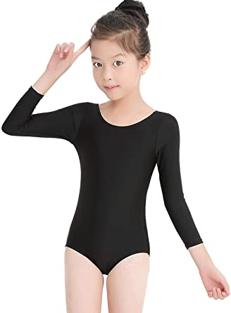 107ac7914 Amazon.com  Speerise Kids Long Sleeve Ballet Dance Leotard Dancewear ...