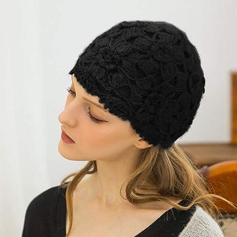 TXOZ Sra. De Punto Sombreros, Casquillo Del Ganchillo De La ...