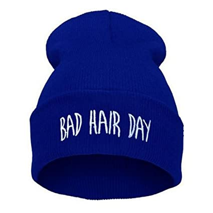 Amazon.com  Bad Hair Day Beanie Hat(Blue)  Baby 92bbd93693d4