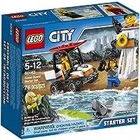 76-Piece LEGO 60163 City Coast Guard Starter Set