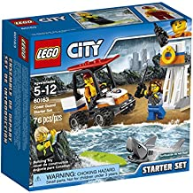 LEGO City Coast Guard Coast Guard Starter Set 60163 Building Kit (76 Piece)