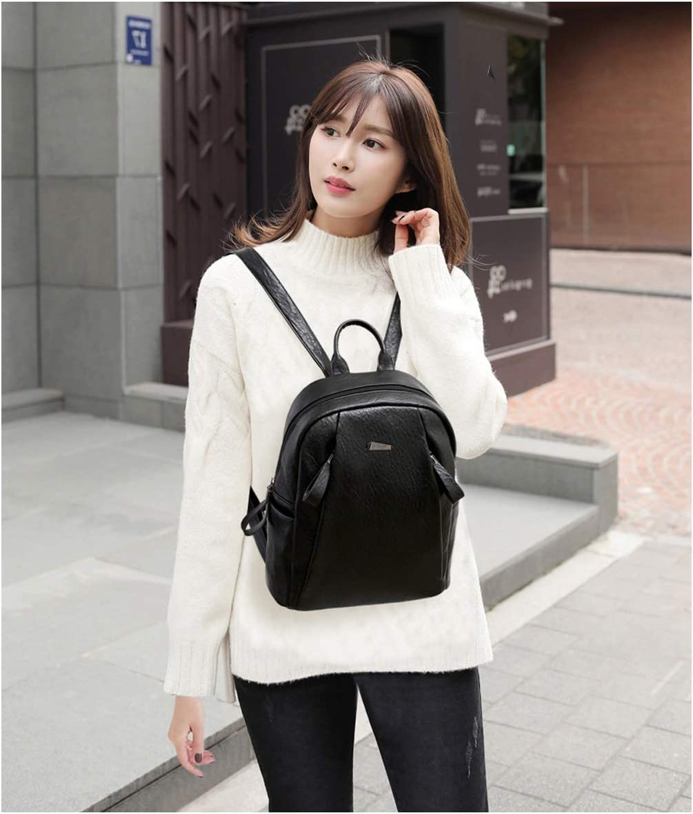 8haowenju The Girls Versatile Backpack is Perfect for Everyday Travel Minimalist Style Fashion and Leisure Travel Latest Models Outdoor Two Colors Work School