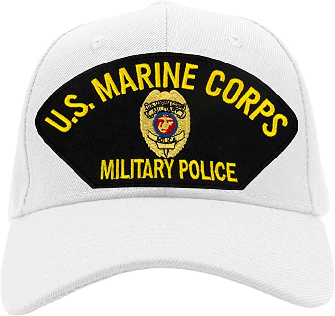 US Marine Corps Military Police Hat BRAND NEW 0004 Ballcap Cap FREE SHIP 57726