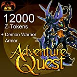 AdventureQuest 12000 Z-Tokens [Game Connect]