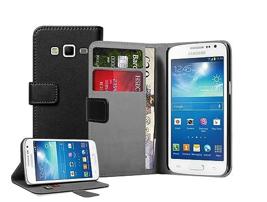 23 opinioni per Membrane- Nero Portafoglio Custodia per Samsung Galaxy Express 2 II (SM-G3815 /
