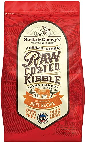 Stella Chewy's Raw Coated Beef 3.5Lb Dry Dog Food