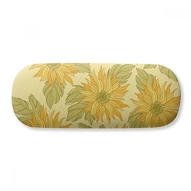 Amazon.com: Estuche pintado a mano con diseño de flor de ...