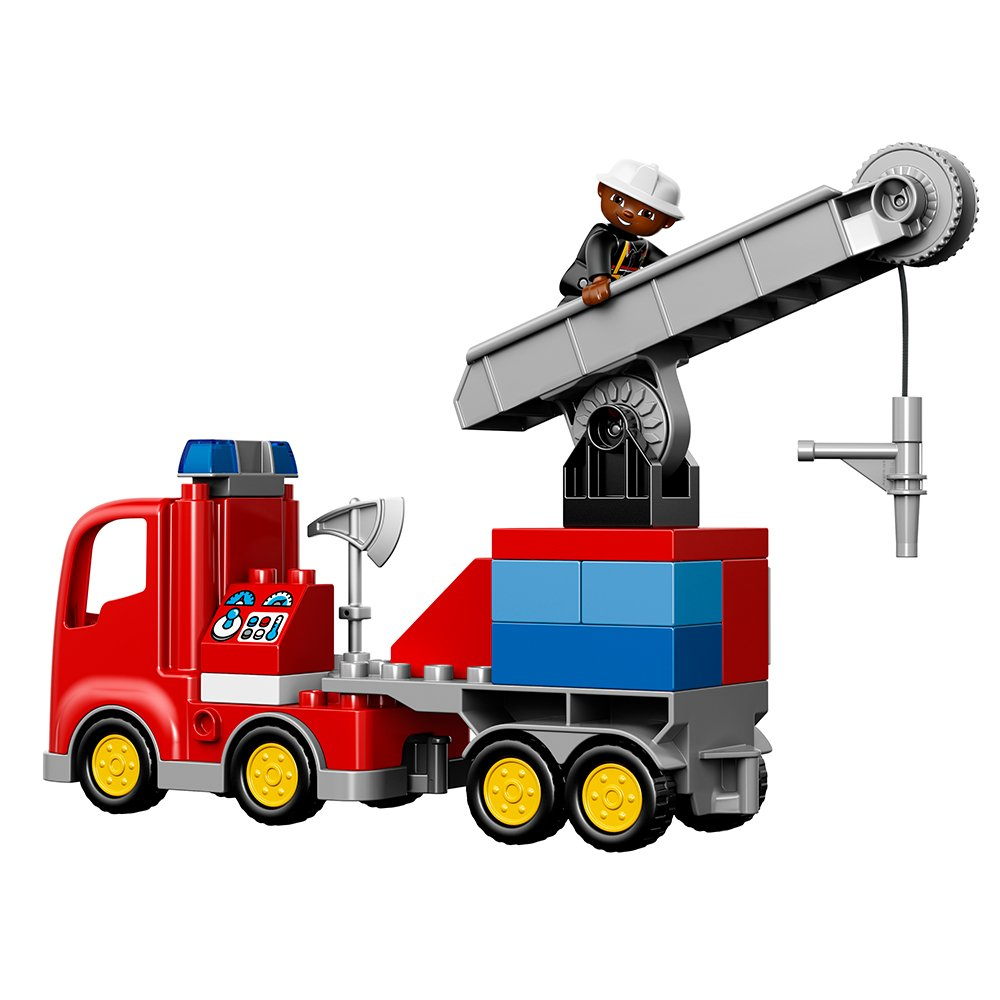 Lego Duplo Town 10592 Fire Truck Building Kit 726088161463 Ebay 10593 Station Our Policy