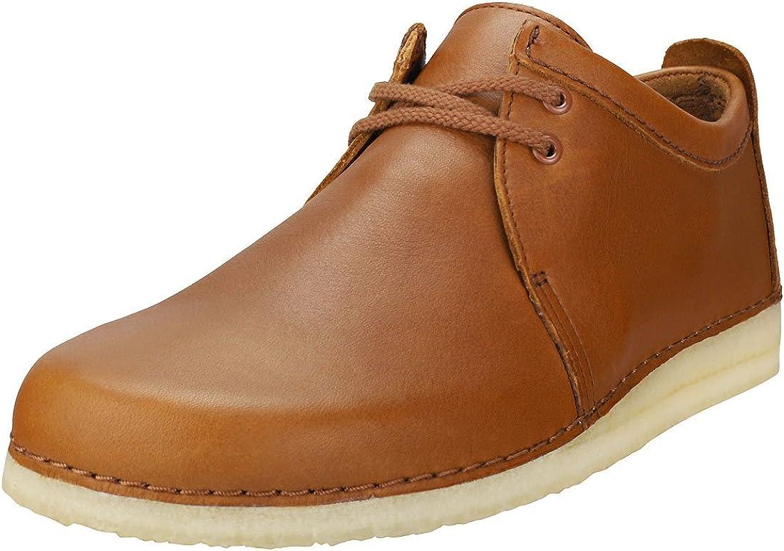 CLARKS ORIGINALS Mens Ashton Shoes in SAND SUEDE