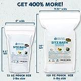 Sitz Bath Soak 8-Lbs (128oz) Bulk Size Epsom Salt