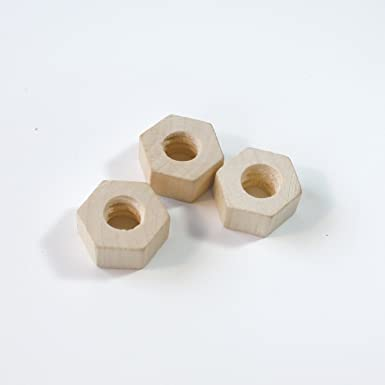 六角ナットセット 4個入【木製】