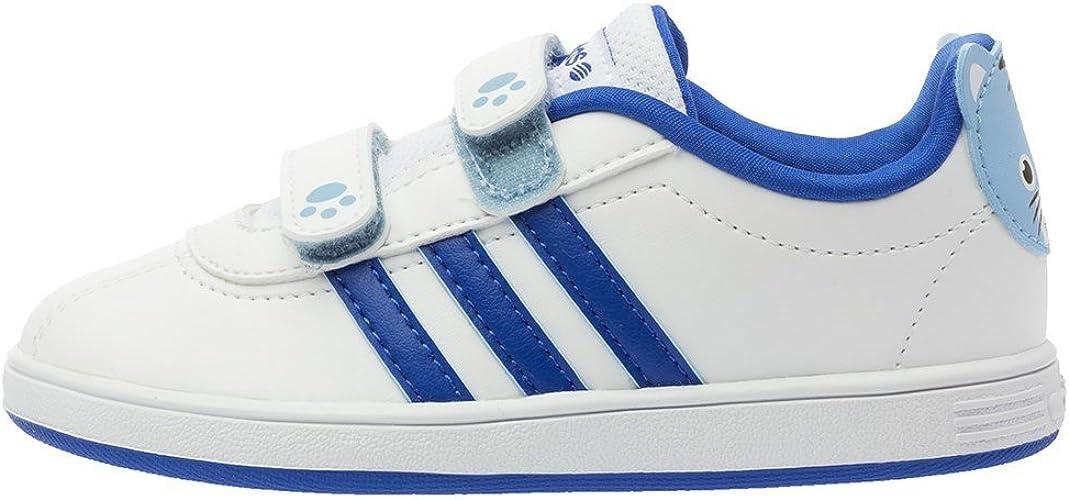 adidas neo blanche et bleu