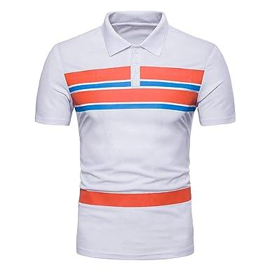 Camisas De Polo T-Shirts Color Hombres Modernas Casual De Mágico ...