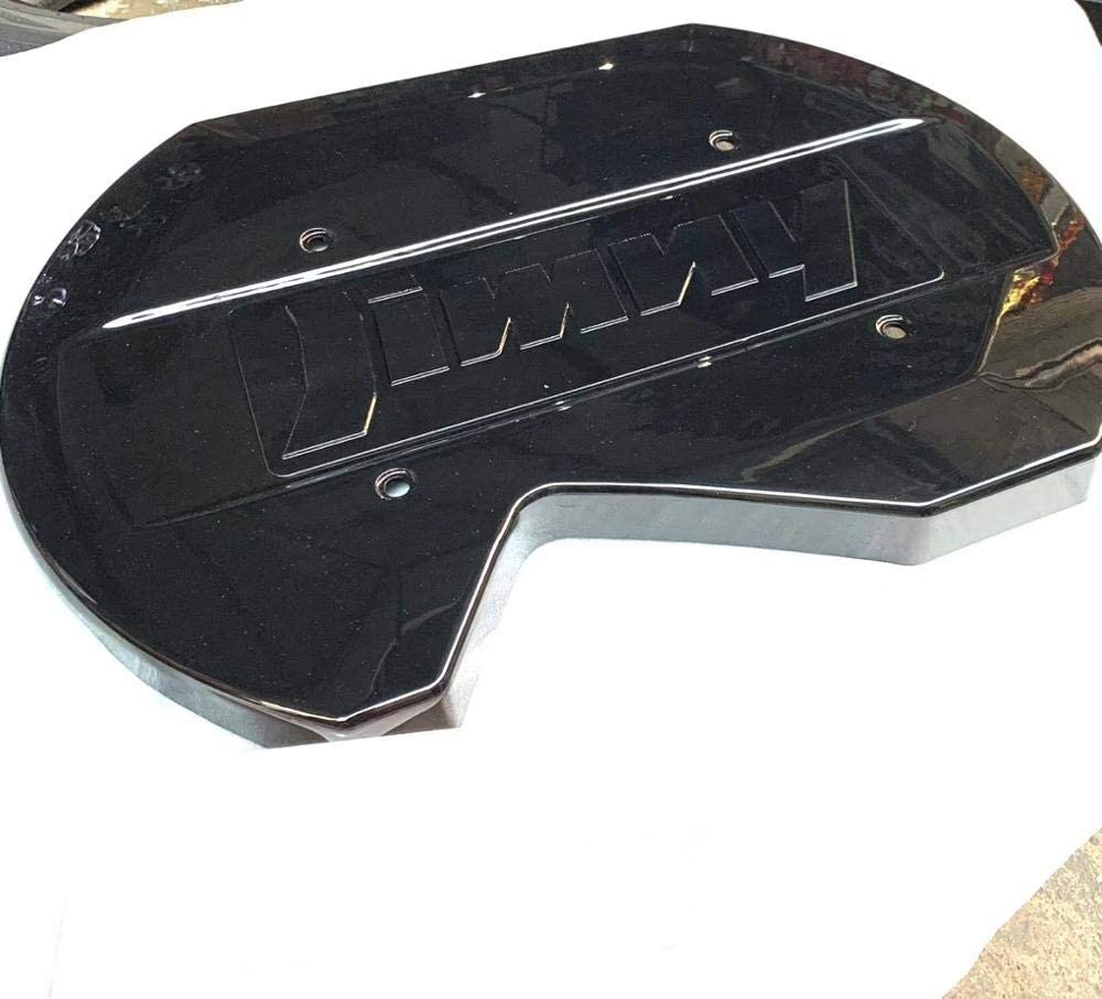 Telo Copriauto Jeep Copertura della Ruota di Scorta//Guscio di Tartaruga per Accessori Jimny Jb64 Jb74 2019 Fibra di Carbonio