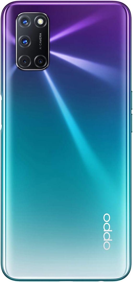 Oppo A72 Smartphone 128gb 4gb Ram Dual Sim Aurora Purple Elektronik