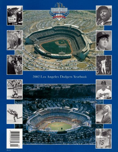 2002 Los Angeles Dodgers Yearbook