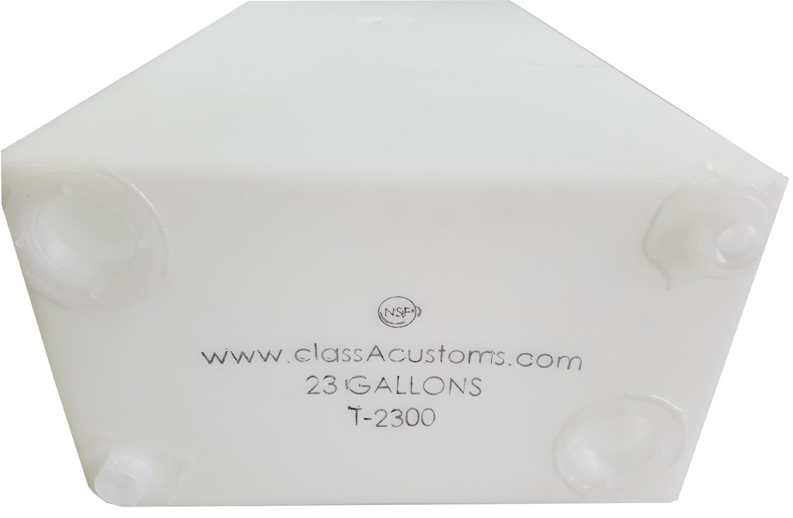 Class A Customs 23 Gallon Water Holding Tank NSF Approved T-2300