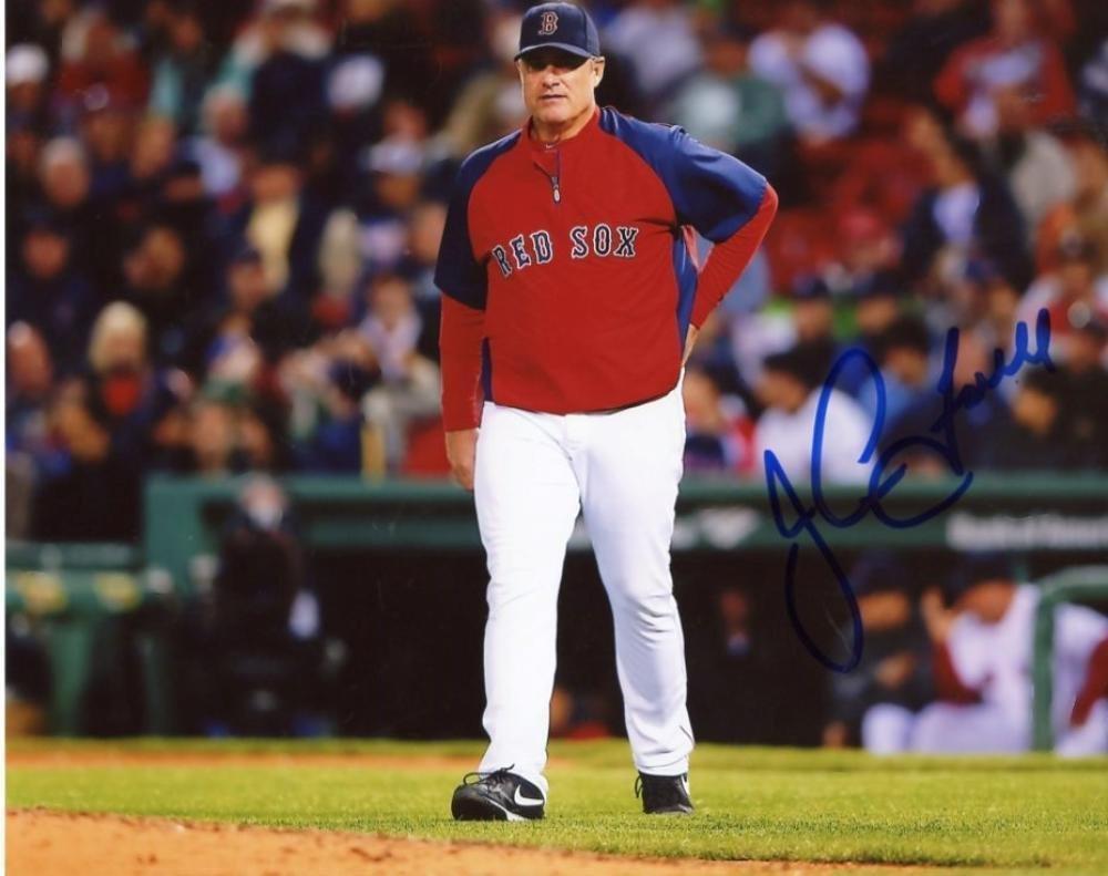 John Farrell Ben Cherington Autographed 2013 World Series Baseball Beckett Coa Sports Mem, Cards & Fan Shop Autographs-original