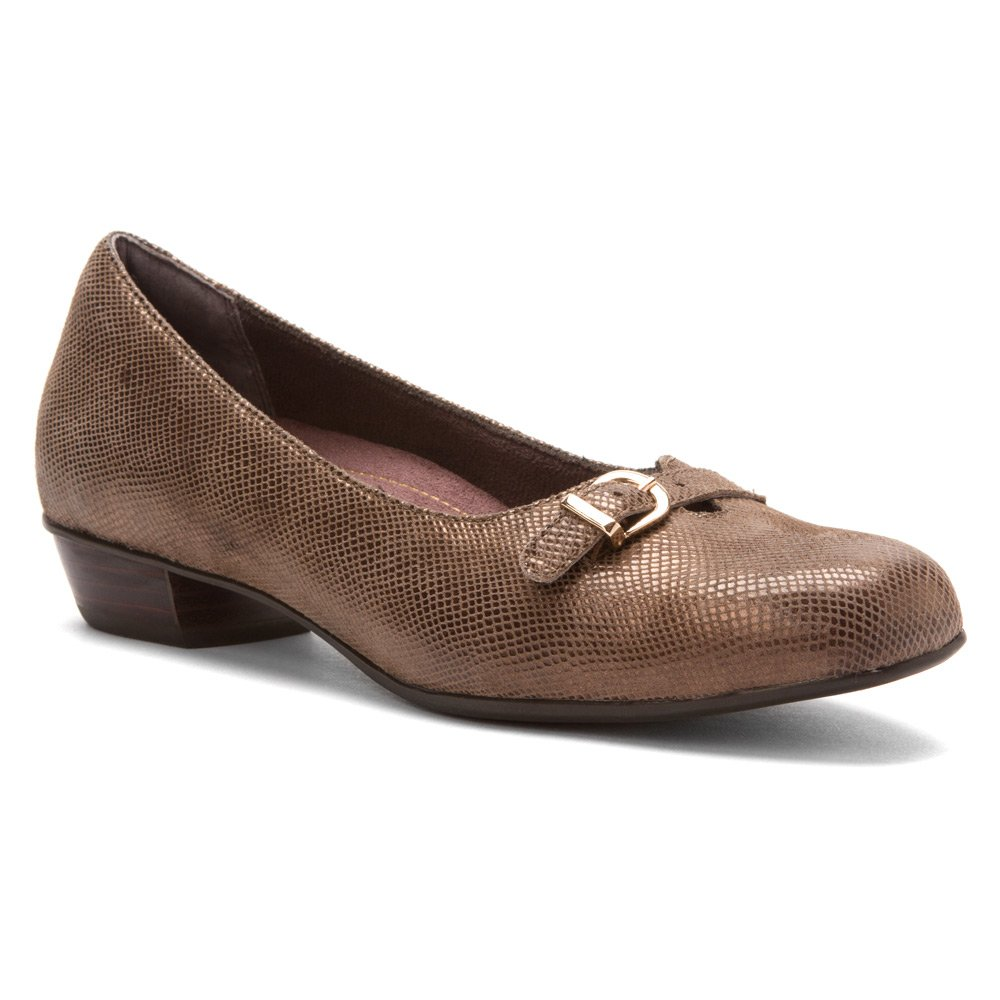 CLARKS Women's Caswell Genoa B00DXOFDYI 8 B(M) US|Taupe
