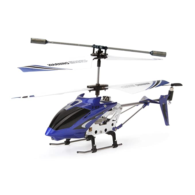 Review Syma S107G 3 Channel RC Helicopter with Gyro, Blue
