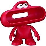 reytid® Altavoz Beats by Dr. Dre Dude Pill Soporte/Case–Rojo–Character altavoz inalámbrico Bluetooth cubierta