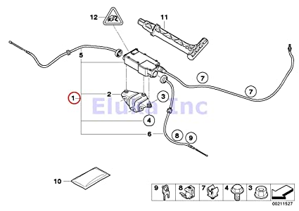 Amazon Com Bmw Genuine Parking Brake Actuator With Control Unit X5