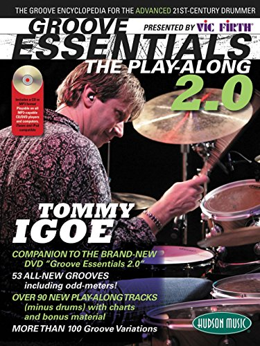 Hudson Music Groove Essentials 2.0 Tommy Igoe - Over 100 Grooves Book/CD