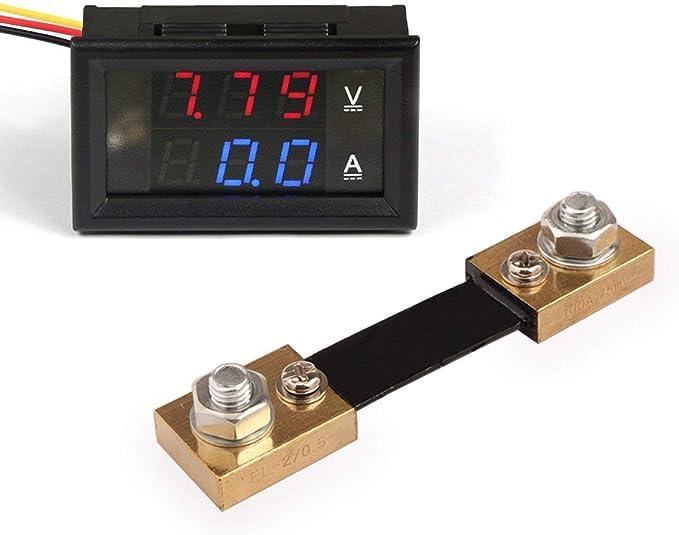 Drok Digital Voltmeter Dan Amperemeter Ammeter Elektronik