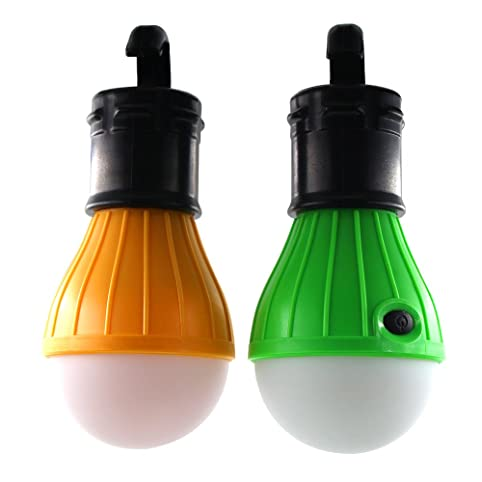 [2 PACK] KUNCAN LED Tent L& Emergency Outdoor Lights Portable Flashing LED Lantern for  sc 1 st  Amazon.com & 2 PACK] KUNCAN LED Tent Lamp Emergency Outdoor Lights Portable ...