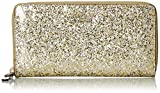 kate spade new york Glitter Bug Lacey Wallet, Gold/Silver, One Size