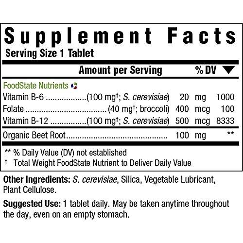MegaFood Vegan B12 Tablets, 30 Count