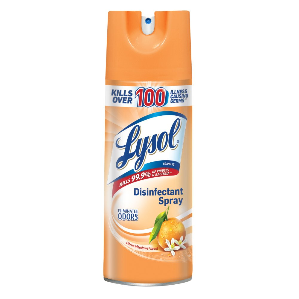 Amazon.com: Lysol Disinfectant Spray, For Babys Room, 12.5oz: Health & Personal Care