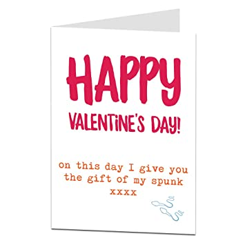 Funny Rude Valentines Card For Her Funny Naughty Valentine S Day