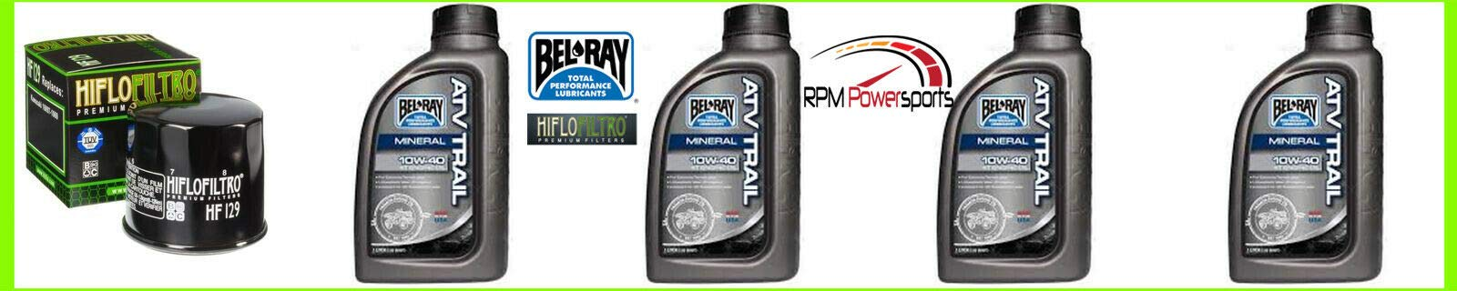 RPM Engine Oil Change Kit KAF950 HAF Mule 4010 Trans 4x4 Diesel Realtree APG HD 10