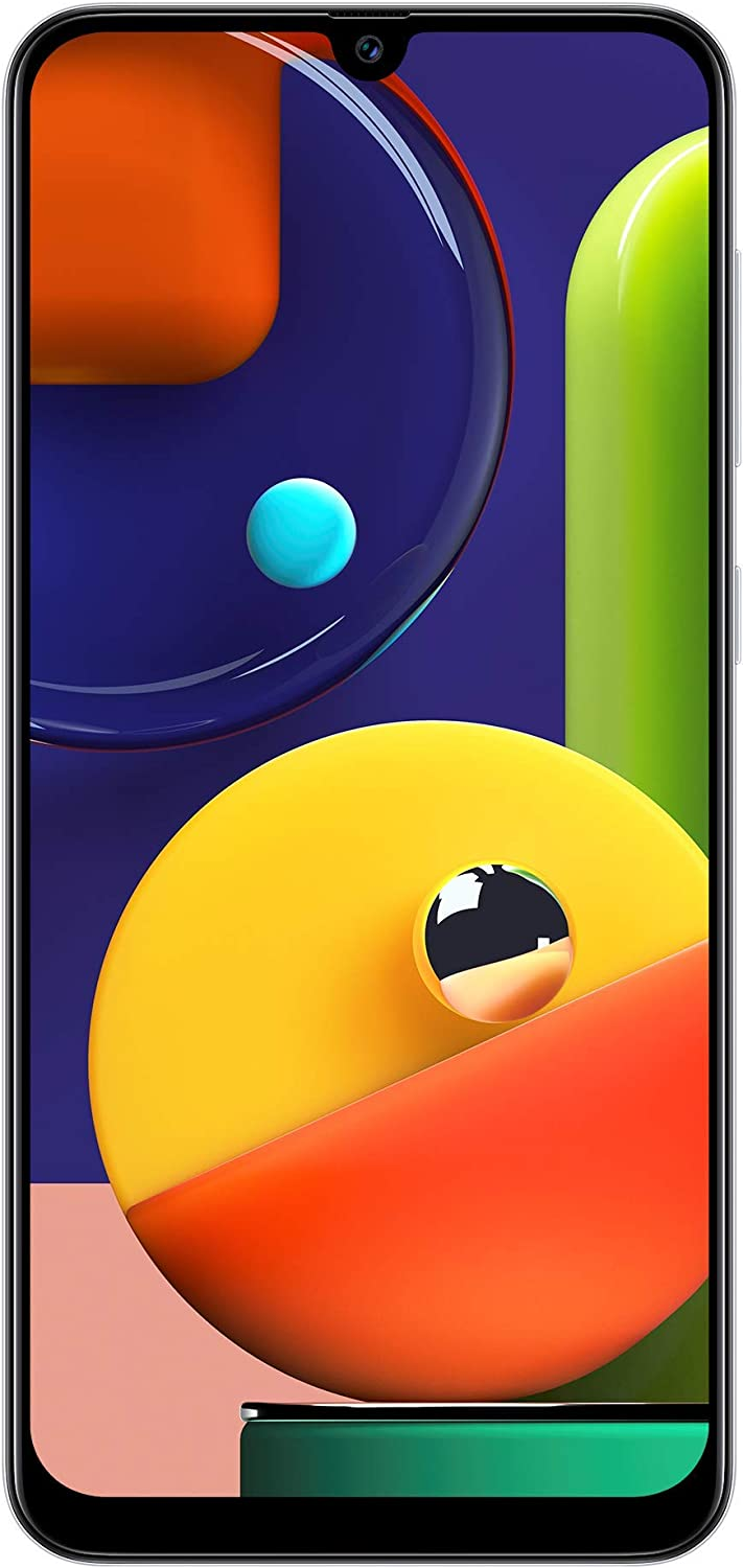 Samsung Galaxy A50s (Prism Crush White, 4GB RAM, 128GB Storage) Without Offers