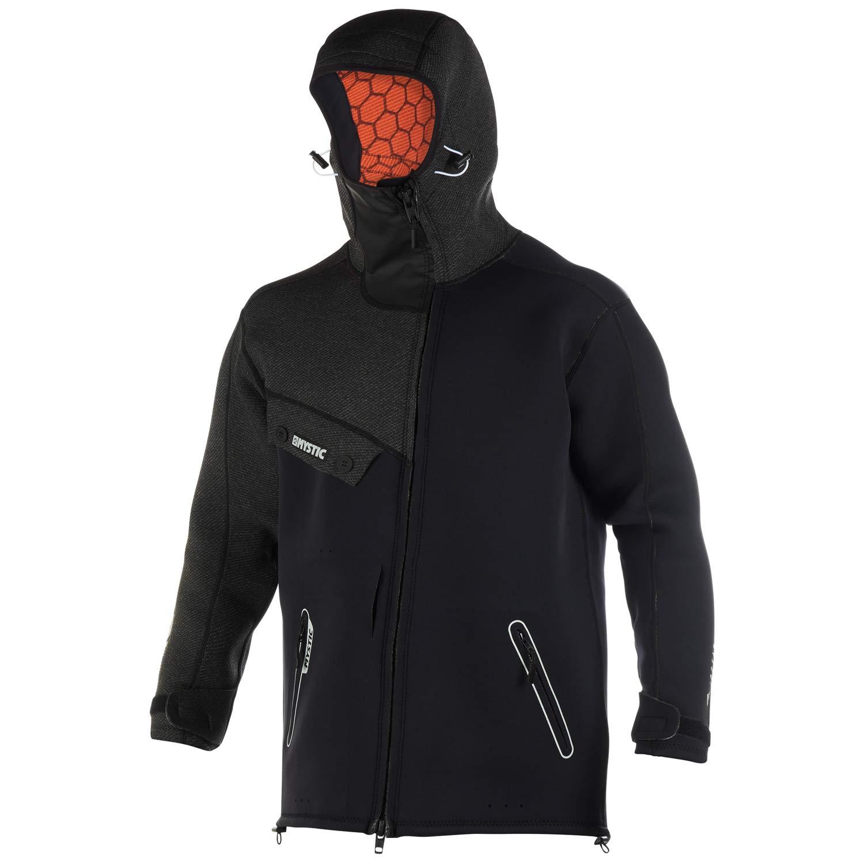 Mystic WatersportsSurf KiteSurf & Windsurfing Mens Len10 Ocean Neoprene Wetsuit Coat Jacket Black White