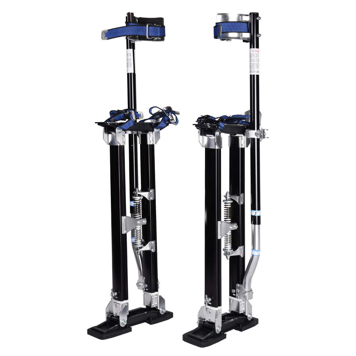 WINMART 24-40 Inch Drywall Stilts Aluminum Tool Stilt For Painting Painter Walk, Stilts Painting (Black)