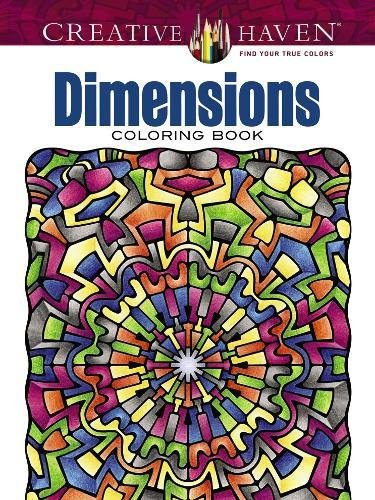 Creative Haven Dimensions Coloring Book (Adult (Dimension Shape)