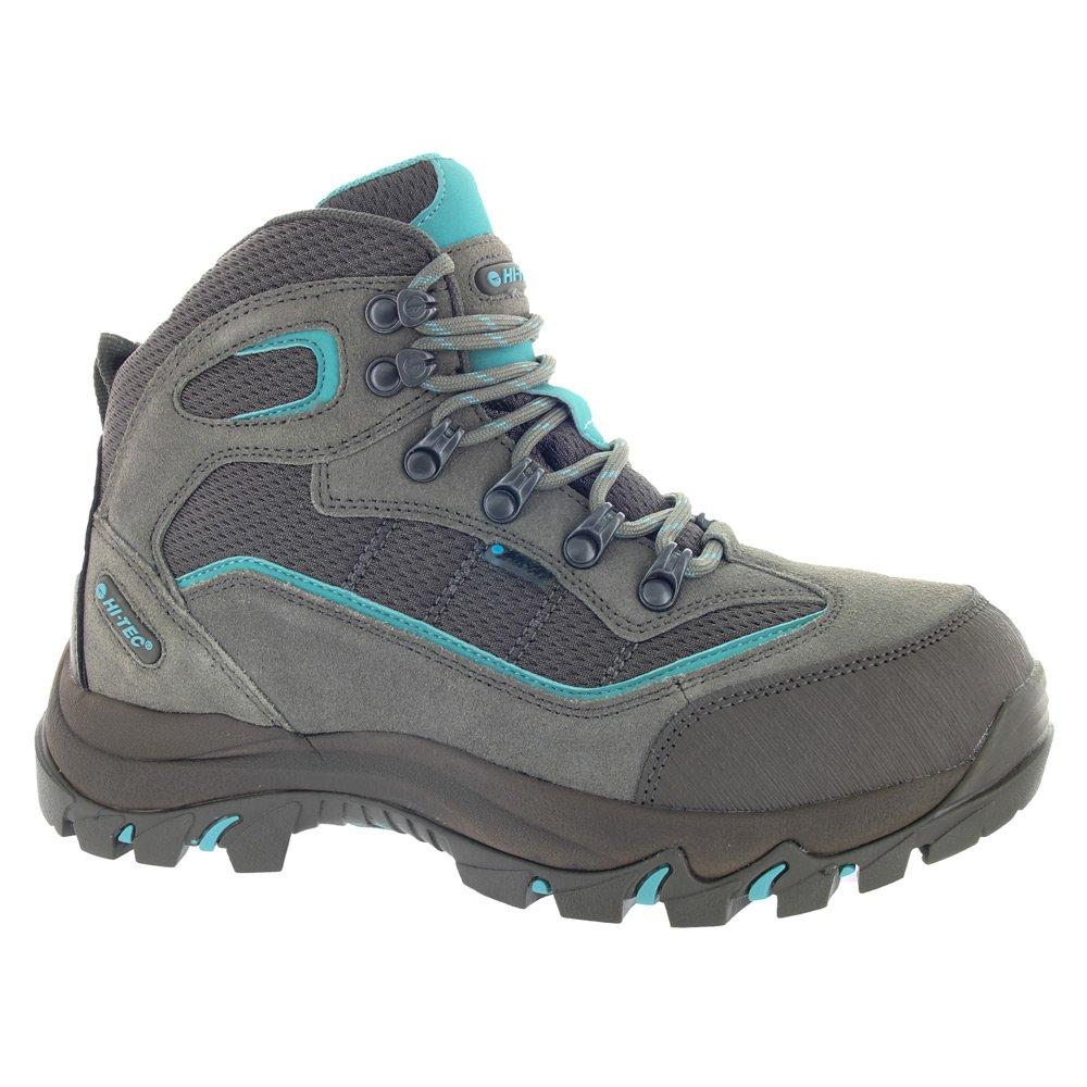 Taupe Smokey Brown Mint Hi-Tec Women's Skamania Mid-Rise Waterproof Hiking Boot
