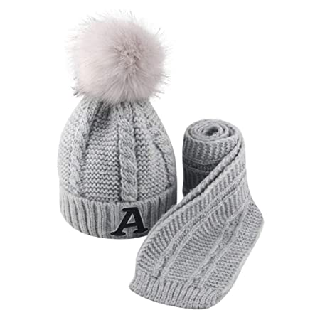 Accessories Autumn And Winter Ball Twist Knit Hat Warm Female Parent-child Imitation Braid Hair Ball Wool Cap Clients First Hats & Caps